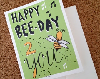 Happy Bee Day - Greeting Card