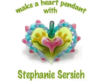 Make a Heart Pendant with Stephanie Sersich - DVD