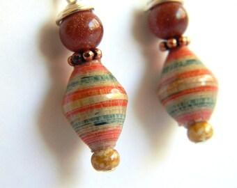 Paper Bead Jewelry - Earrings - #ET101