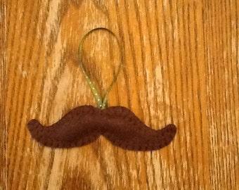 Moustache Ornament