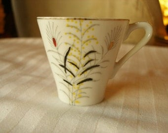 Mini Tea cup Vintage Brand Name Fares Handpainted for your Collection or replacement Cup