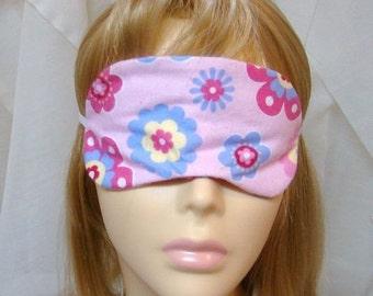 Flowers Embroidered Sleep Mask
