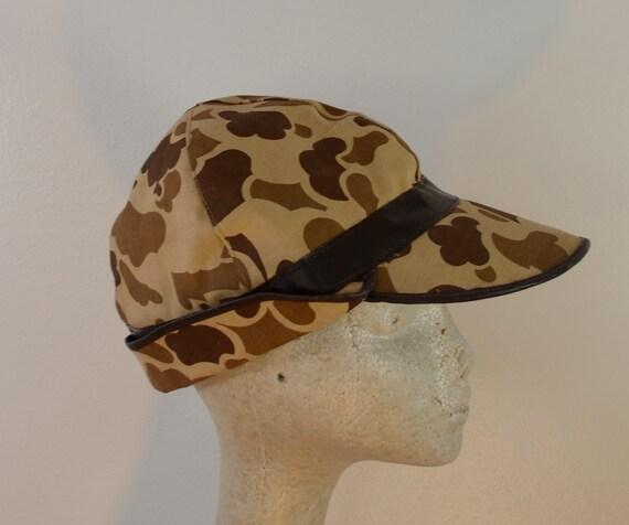 On Sale Vintage L L Bean Camo Hunting Hat Jones Style Sz Xl