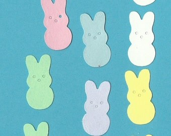 Lot of 12 Quickutz  Easter Bunny Die Cuts