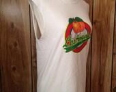 Custom cut sleeveless Los Angeles tshirt