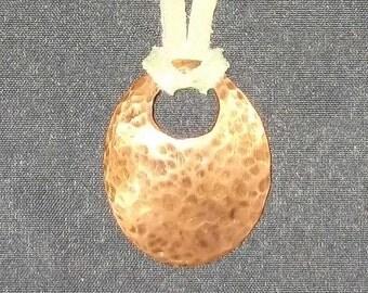 Copper Pendant Necklace - 590