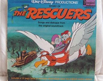 Rescuers Down Under Vinyl Record Lp Soundtrack Rare Disney