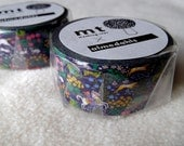 mt x Almedahls Washi Masking Tape - Hunting / Italian Flower Shelf / Mushrooms - 2014AW