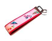 Hot Pink Beach Key Fob