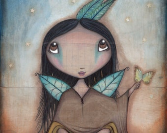 Native American Faerie - 8x10 Signed Print