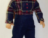 1945-18 inch Doll  After School Outfit and Shoes