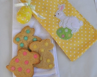Easter Bunny Sugar Cookies - Two dozen homemade cookies of your choice