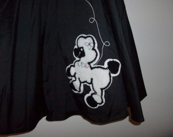 Black Poodle Skirt by Cruisin - Size S/M (Code r)