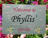 Garden SIGNS - for that special gardener - perfect gift - Birthday , any other occassion.