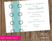 Wedding Shower Bridal Shower Invitations - 1.00 each with envelope