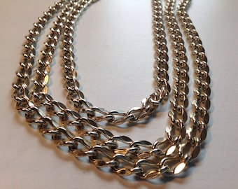 Vintage Large chain necklace