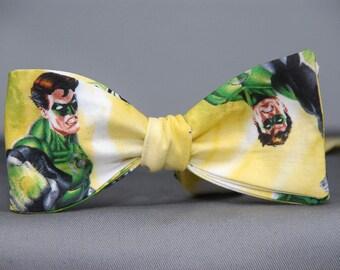 Green Lantern Action  Bow tie