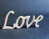 Wooden sign LOVE - Wedding decor - Home Decor - Gift idea