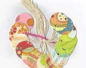 Just Dreamy Round Tags (set of 18) Jewelry Tags / Ready To Ship / Favor Bag Tags