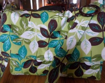 Multi-color Leaves/Spring  Satchal/Diaper Bag/Handbag Purse