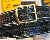 "The Bossman - 1.75"" wide custom leather belt"