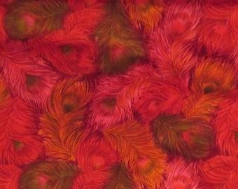 "Vintage cotton fabric VIP fabrics inc. 1 yard x 45"""