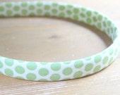 evie lala green dot headband
