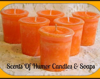 OAKMOSS & AMBER Scented Votive Candles - Handmade Votive Candle - Highly Scented - Gift Boxed Set - Hand Poured In USA