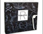 Pirate Treasure Album   Ruby Love Modern Baby Memory Book
