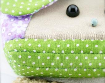 Doggy quilt zipper pouch