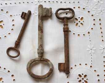 Antique rusty keys for you!  Best for your creative project!
