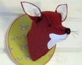 Fox Trophy Head instant download pattern