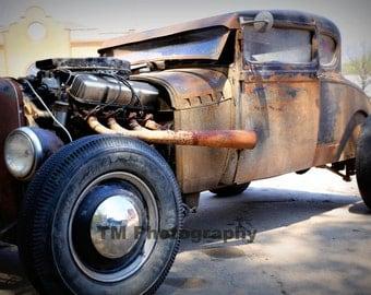 Hot Rod - Old Car - Old Hot Rod - Rusty Old Car - Rusty Hot Rod - Fine Art Photography