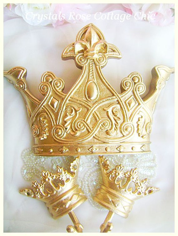 Modern Gold Crown Wall Decor Picture Collection - All About Wallart ...