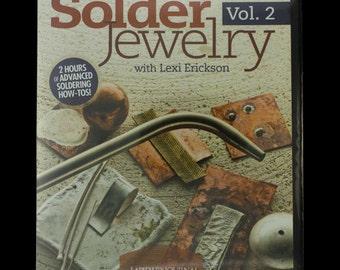 Metalsmith Essentials: How To Solder Jewelry Instructional DVD Volume 2   SALE