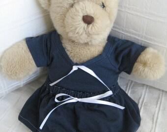 Teddy Bear Clothes, Bec School Sport Top & Skirt