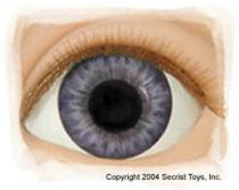 Victorian Blue Eyes for Reborn Dolls 5 Sizes to Choose from