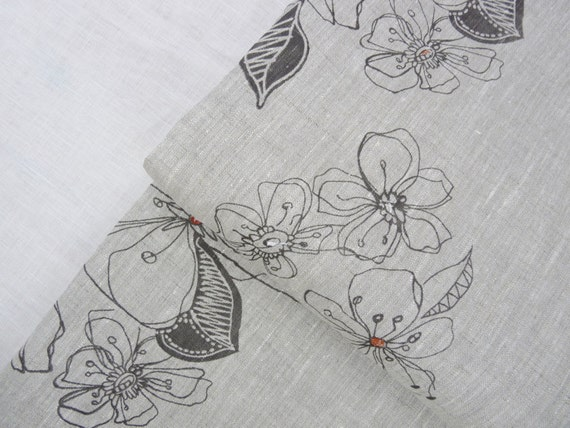 Blossom -Fabric by the yard - Free Shipping to USA
