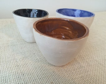 Porcelian nesting cups, set of 3