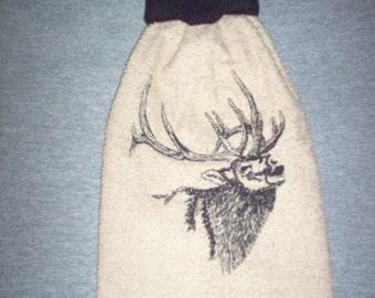 2 towels -Elk Hanging Kitchen Towel