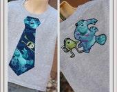 Custom Listing for Jenilee Monsters tie shirt