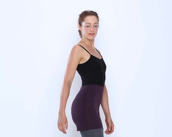 High waisted shorts - Yoga pants - running - gym - dance wear - yoga clothes. Black, burgundy and teal. sizes SM and ML