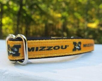 University of Missouri Cat or Small Dog Collar