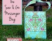 The Sew & Go Messenger Bag (Instant Download)