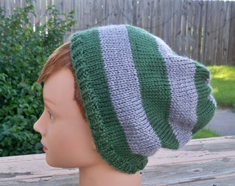 Hat in Slytherin Colors