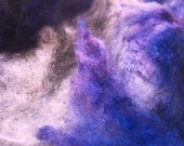 Supermoon - Spinning Felting Fiber Targhee Fleece