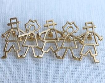 Vintage Family Pin/Brooch