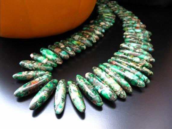 jasper pendant necklace green jasper pendant necklace sea  |Green Jasper Jewelry