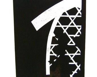 Vintage Japanese Stencil  Katagami  Stencil  Showa Period