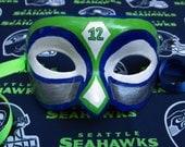 Seahawks #12 Fan Mask, Go Hawks!